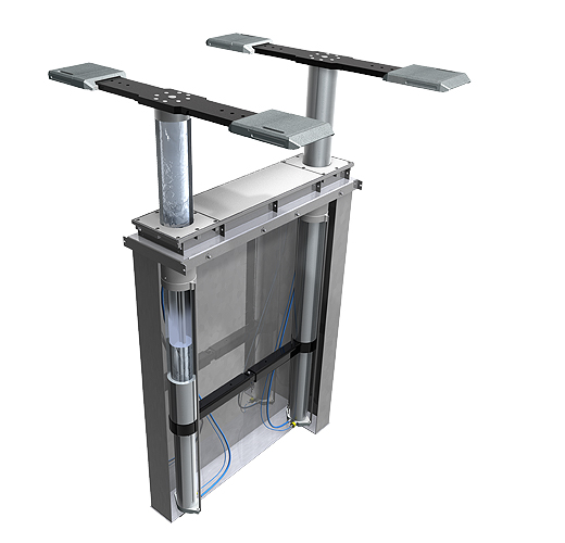 Aqua Lift2 - water and Compressed Air In-ground Lift